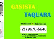 Tecnico gasista - taquara-freguesia-praça seca-campinho
