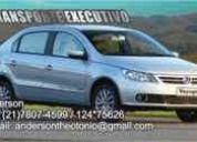 Transporte executivo e taxi