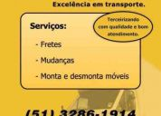 Mudanças em porto alegre - migotto express - excelência em transporte.