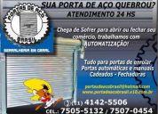 Portas de aço automáticas brasil