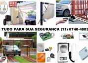 Conserto de portão eletronico (11) 6748 4883 sp