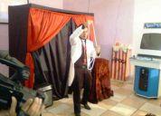 Show de mágicas e ilusionismo metalismo mágico fm