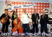musica italiana  ( viva napoli-quartet)  0xx 11  4412-7344 / 7095-4237