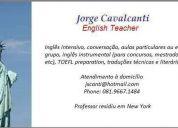 Inglês intensivo aulas particulares