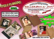 fotos e filmagens: aniversários, books, casamentos, fotmaturas, etc.