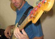 Aulas de guitarra, violão e contrabaixo