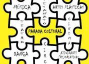 Parada cultural - centro de atividades artísticas