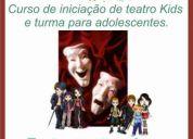 Curso de iniciação ao teatro kids e para adolescentes na tijuca