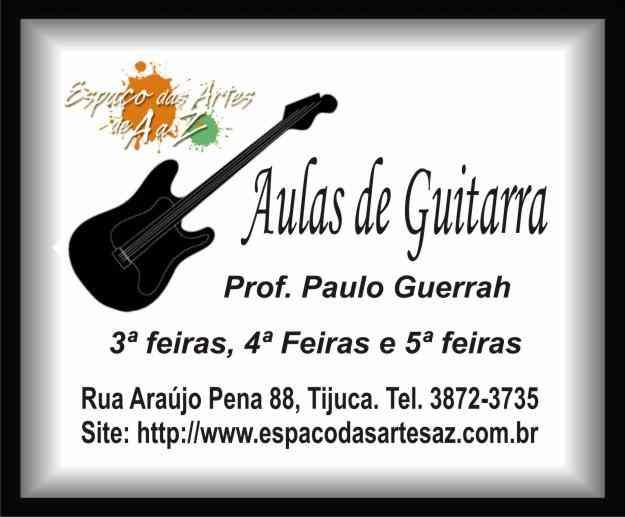 Aulas de Guitarra na Tijuca