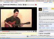Aulas de música - veja exemplos no youtube!