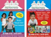 Escola de educação infantil - berçário - ensino fundamental