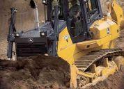 Manobrador experiente em todos os trabalhos de terraplanagem e infra-estruturas movimentos