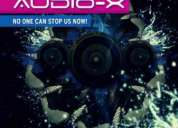 Audio-x - no one can stop us now! (cd) - cod 521606