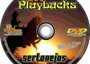 Playback sertanejo 200 musicas de estudio em mp3 ( base midi ) em cd - cod 17472