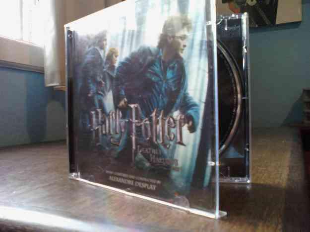 CD da Trilha Sonora de Harry Potter e as Relíquias da Morte parte 1