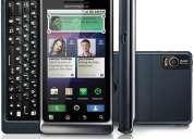 Smartphone motorola a953 milestone 2 preto - gsm - desbloqueado + frete grÁtis