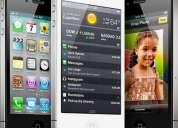Iphone 4 - 32 gigas nacional desbloqueado com todos acessórios estado de novo r$1.299
