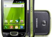 Smartphone samsung galaxy mini android 3g wi-fi câm 3.2mp gps 2gb