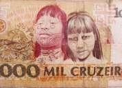 Nota de r$ 1000 cruzeiros