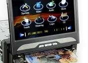 dvd automotivo rei viper (1din, gps, painel, giratório removível)