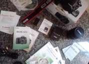 Canon eos 60d com lente 18x200mm