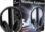 Fone de ouvido sem fio 5 em 1 mh2001
