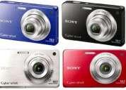Câmera digital sony cyber-shot dsc-w560, 14.1 mp, lcd 3.0, zoom Óptico 4x + cartão de memória 4g