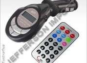 Transmissor fm mp3 player para pen drive, cartão, campinas