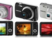 Câmera digital samsung pl20 14.2mp, lcd 2.7, zoom Óptico 5x, vídeo em hd (720p), detector de face