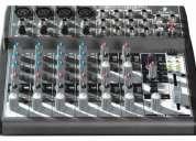 Mesa de som behringer xenyx 1204fx - o melhor preço e' aqui