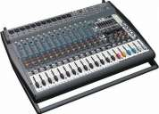 Mesa amplificada behringer pmp 6000 _nota_garantia audioluk