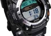 Relogio casio sgw-300h 300hd termômetro barômetro altimetro