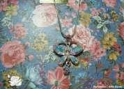 Novidade - gargantilha borboleta com navete ab swarovski