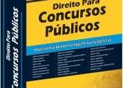 Livro direito para concursos públicos