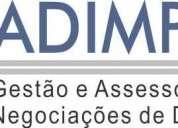 ServiÇo de gestÃo e assessoria em negociaÇÕes de dÍvidas (pessoa jurÍdica e fÍsica)