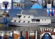 Barco aluga-se no estado do amazonas, para, tocantins.