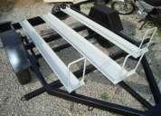 carretinha para transporte de 03 motos.fabrica em bh.fabricamos carretinhas