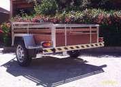 Carreta reboque para veículos leves