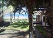 Barra do jacuipe  casa frente mar
