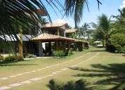 Casa 4/4 à venda, em frente À praia, praia da coroa, ilha de itaparica
