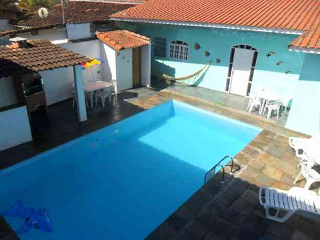 CASA NO GUARUJÁ C/PISCINA - ENSEADA - 4 DORM