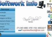 RemoÇÃo de virus, formataÇÃo,programaÇÃo,manutenÇÃo completa! 71 - 34616890 - 87811104