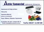Ribbons - etiquetas - impressoras cÓdigo de barras