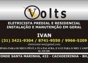 Eletricista em bh 31 8741-9550