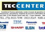 Assistência técnica fax panasonic intelbras sharp -  orçamento grátis
