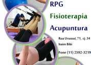 Fisioterapia, rpg e pilates studio valéria baldan