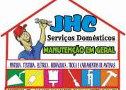 Jhc pererão serviços domesticos
