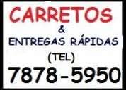 Carretos* vila mariana* tel:7878-5950-entregas rÁpidas