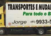 Transportes,fretes e mudanças jorge.bairro alto curitiba.(41)99335671