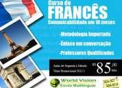 Curso de francês com Ênfase em coversação
